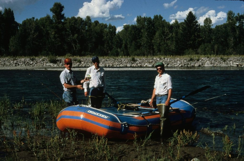 JHWMA - Early Cooperative Efforts Snake River image