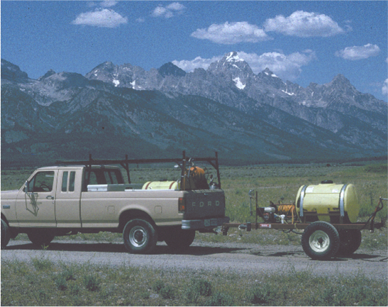JHWMA - Early Cooperative Efforts truck image